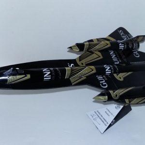 Pop can airplane SR-71 Blackbird