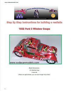 Popcan 3 Window Coupe plans