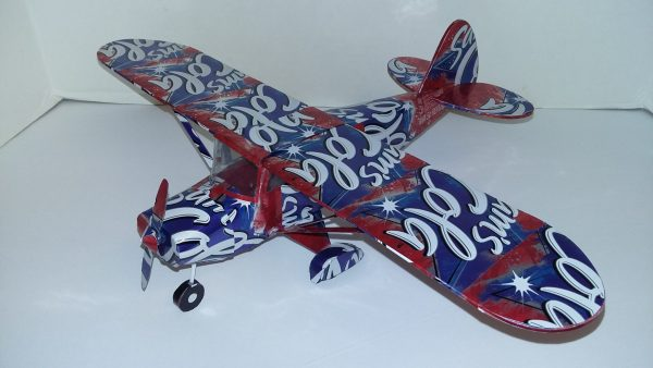 Piper Tri Pacer soda can model plans