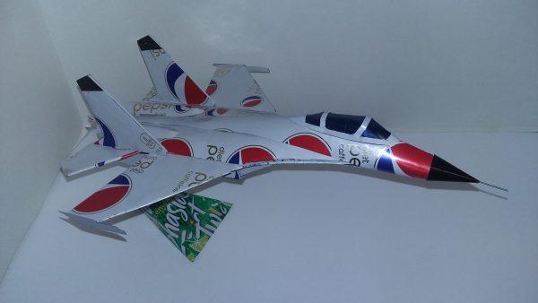 Shenyang J-11 pop can plane plans