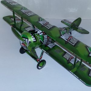 Pop can biplane Sopwith Camel