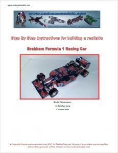 Popcan Brabham formula 1 plans