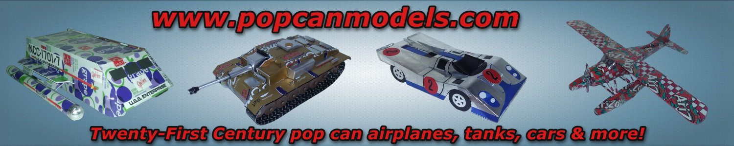 Pop Can Models