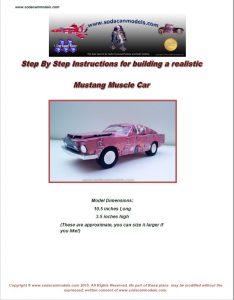 Popcan 68 Mustang plans