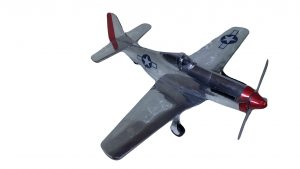 Popcan airplane P-51D Mustang plans