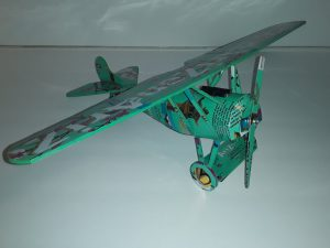 Popcan airplane plans and popcan model instructions